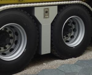 Tiroir à élingues entre essieux