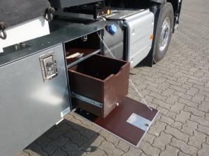 Coffre tiroir levageur - Sur véhicule